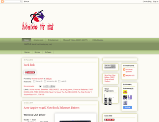 make-it-ez.blogspot.com screenshot