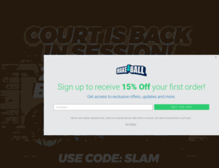 makeaball.com screenshot