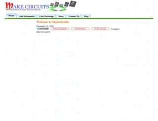 makecircuits.com screenshot