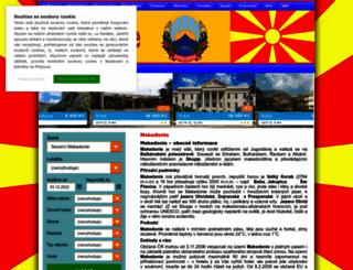 makedonie.dctravel.cz screenshot