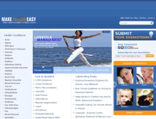 makehealtheasy.com screenshot