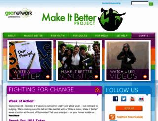 makeitbetterproject.org screenshot