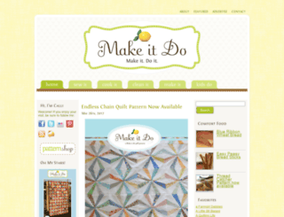 makeitdo.wordpress.com screenshot