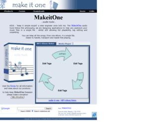 makeitone.net screenshot