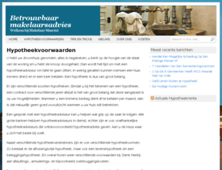 makelaarmascini.nl screenshot