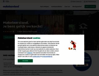 makelaarsland.nl screenshot