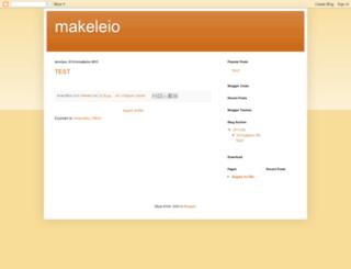 makeleio.blogspot.com screenshot