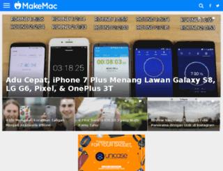 makemac.co.id screenshot