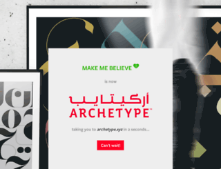 makemebelieve.com screenshot