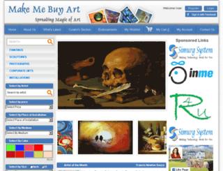 makemebuyart.com screenshot