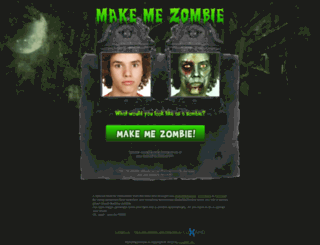 makemezombie.com screenshot