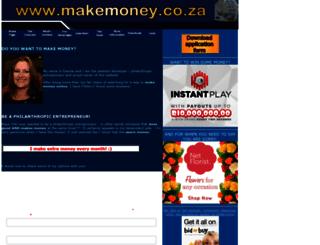 makemoney.co.za screenshot