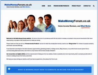 makemoneyforum.co.uk screenshot