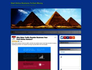 makemoneyfromwebsite.wordpress.com screenshot