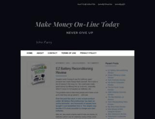 makemoneyon-linetoday.com screenshot