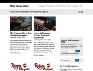 makemoneyonline.com.ng screenshot