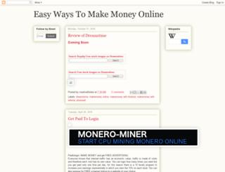 makemoneyonline133.blogspot.com screenshot