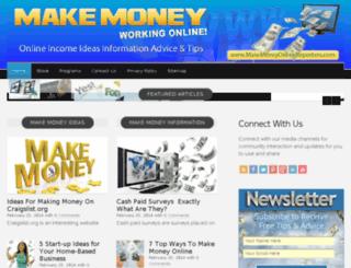 makemoneyonlinereporters.com screenshot