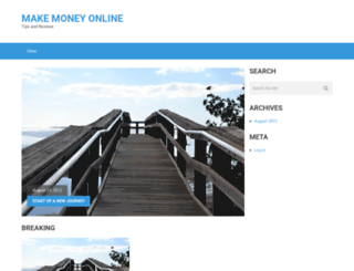 makemoneyonlinesites.net screenshot