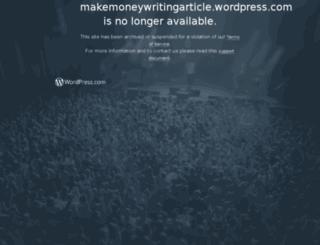 makemoneywritingarticles.co.nr screenshot