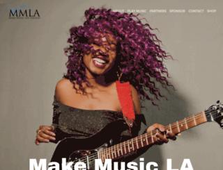 makemusicla.org screenshot