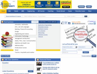 makemycareer.com screenshot