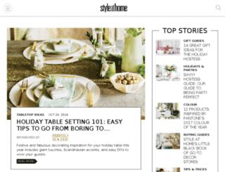 makeover.styleathome.com screenshot