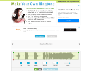 makeownringtone.com screenshot