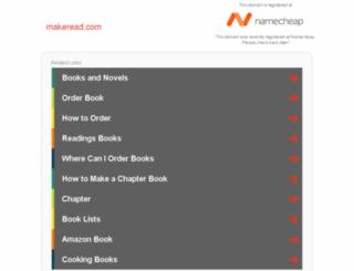 makeread.com screenshot