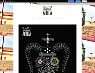 makerfaireafrica.com screenshot
