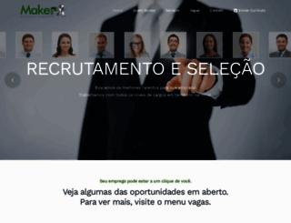 makerh.com.br screenshot