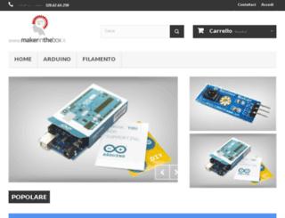 makerinthebox.it screenshot