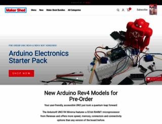 makershed.com screenshot