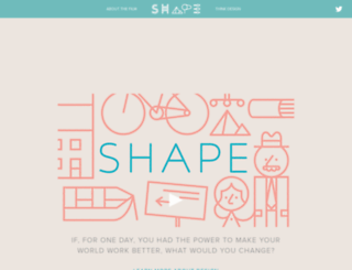 makeshapechange.com screenshot
