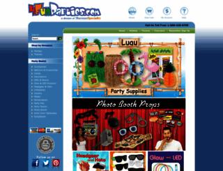 makesparties.com screenshot