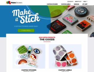 makestickers.com screenshot
