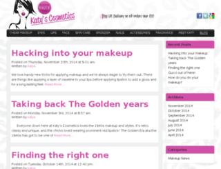 makeup-and-cosmetics.co.uk screenshot