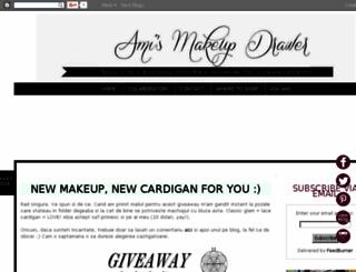 makeup-drawer.blogspot.com screenshot