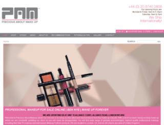 makeup-provisions.com screenshot