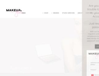 makeupandglow.com.au screenshot