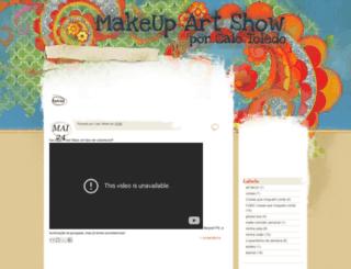 makeupartshow.blogspot.com screenshot
