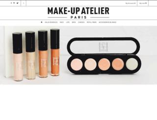makeupatelierparis.co.uk screenshot