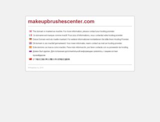 makeupbrushescenter.com screenshot