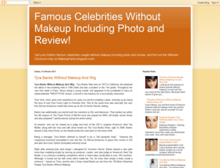 makeupfame.blogspot.com screenshot