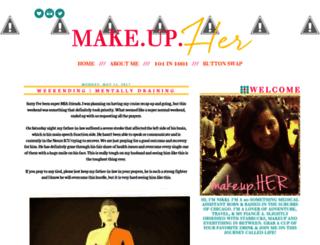 makeupher.blogspot.com screenshot
