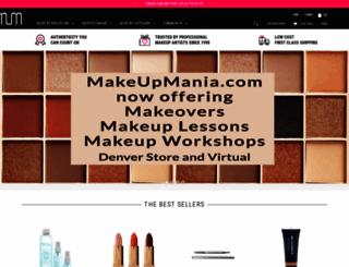 makeupmania.com screenshot