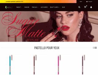 makeupmineral.fr screenshot