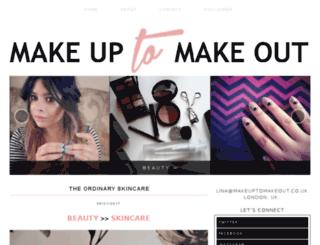 makeuptomakeout.co.uk screenshot