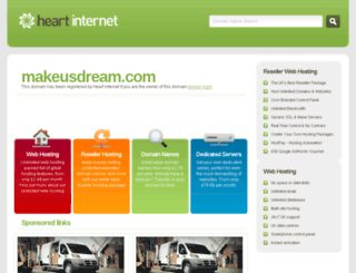 makeusdream.com screenshot