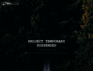 makeyourcloud.com screenshot